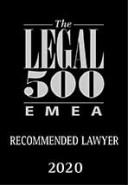 01the legal 500 emea recommended lawyer 2020