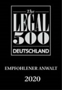 2020 Legal500 recommended lawyer 1 Klein7