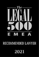 2021 emea recommended lawyer 2021