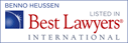 best lawyer international benno heussen