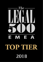 emea top tier firms 2018
